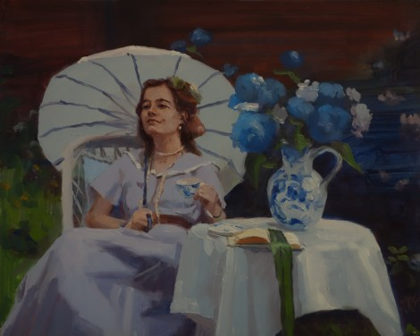 afternoon-tea_oil-on-panel_8x10