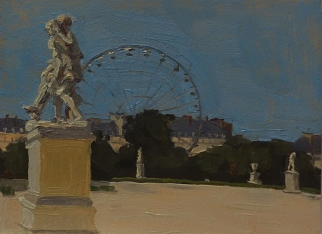ferris-wheel-in-the-tuilleries-paris_oil-on-paper_4-5-x-6