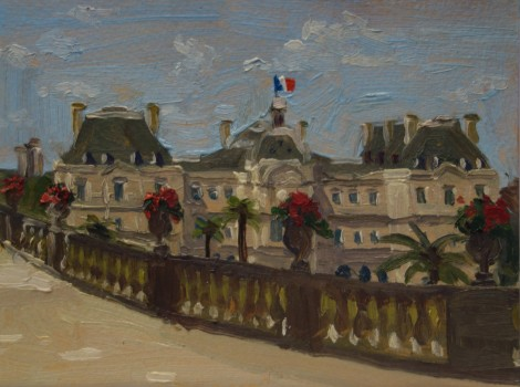 palace-luxembourg-garden-paris_oil-on-paper_4-5-x-6