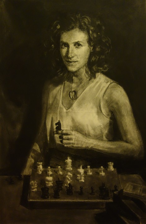 tempest-chess-game_charcoal-on-arches_20x30