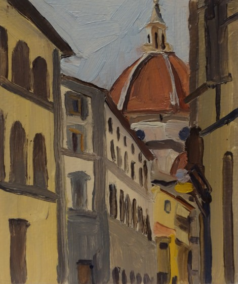 view-of-the-duomo-florence_oil-on-paper_5-75-x-6-75
