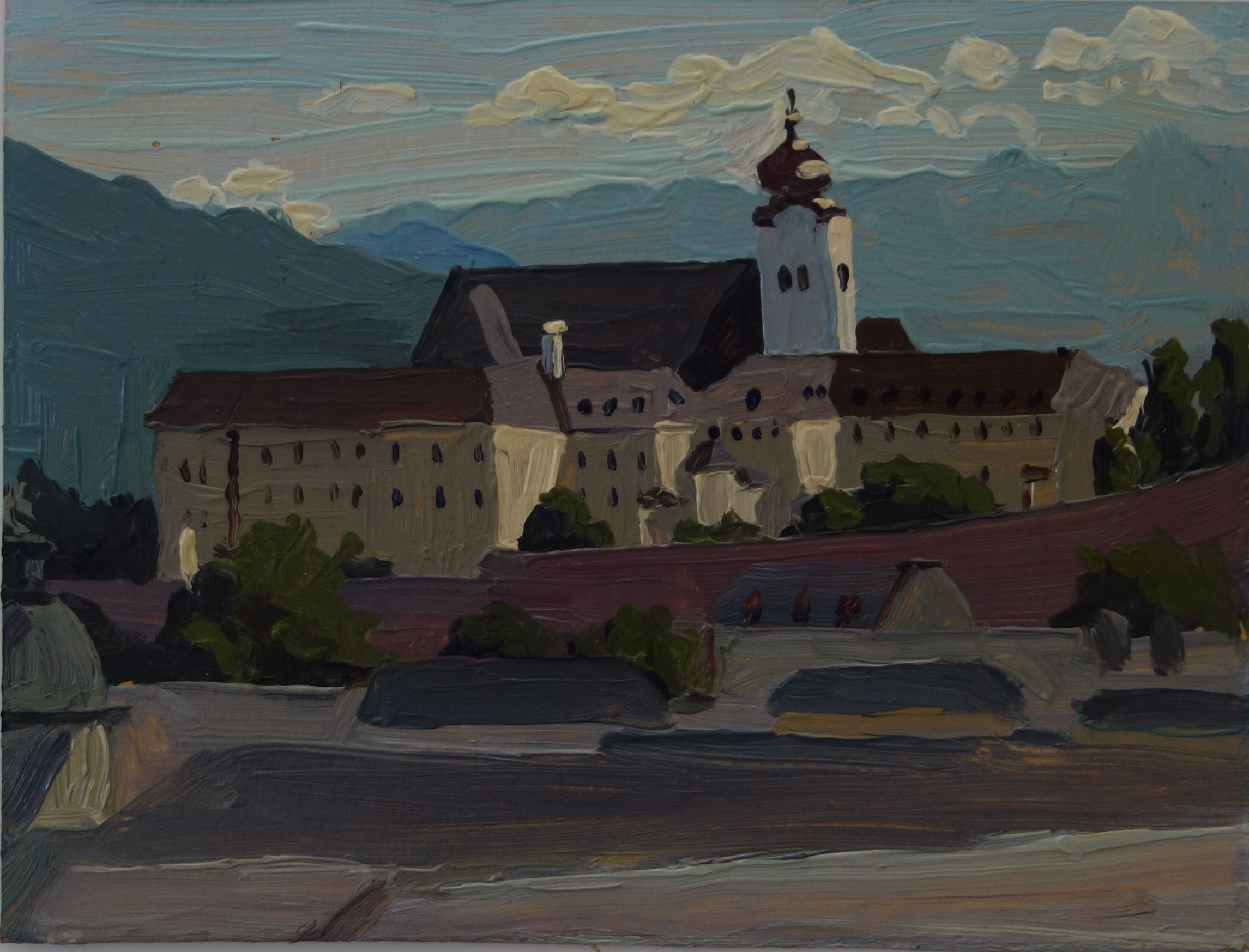 Stift Nonberg Abbey Salzberg