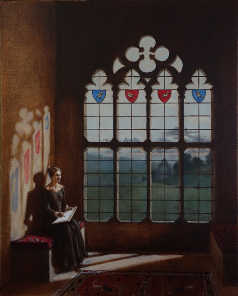 Jane_Eyre_I_am_no_Bird_Oil_on_Linen_Painting_16x20_Maud_Taber_Thomas_Washington_DC_Georgetown